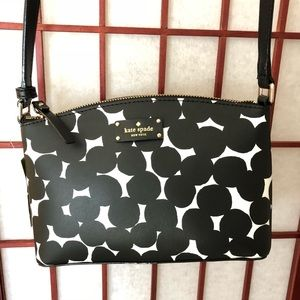 NWT Black Polka Dot Millie Crossbody